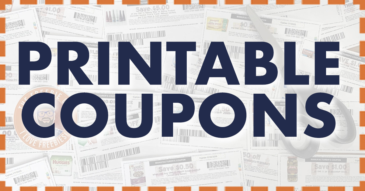 Print Coupons Online The Freebie Guy