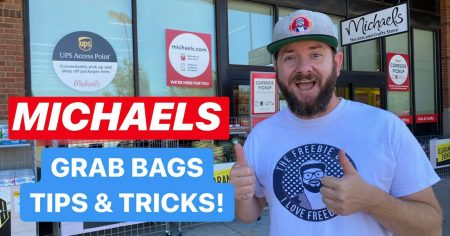 Michaels Grab Bag with The Freebie Guy